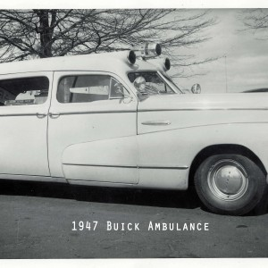 New 1947 Buick Ambulance