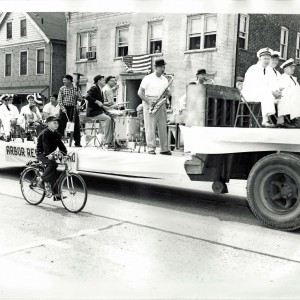 Arbor Rescue Parade Float, circa 1950's